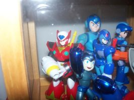 MegaMan Model Collection 2 by Gileum