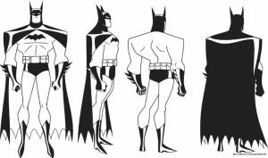 Batman JLA Model Sheet 1 by Nes44Nes
