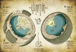 Quantum Cut-away Map by butterfrog
