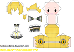 Len Append Papercraft by Furikisundama