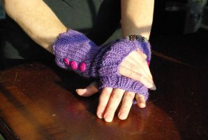 Twilight Sparkle Gloves by AlleyKat666