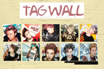 Tag Wall Icon Super Junior M by HazukiRokudo