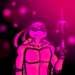 Pink Peppy Turtle by Angels-Inspiration