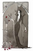 Morticia by Maryanneleslie
