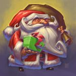 Santa sketch 2013 by peetcooper