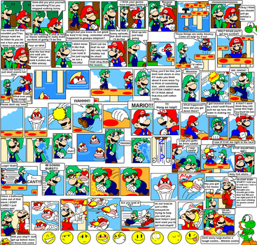 super mario bros page 23 by Nintendrawer