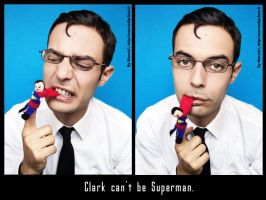 Clark can't be Superman 4 by Marciedip