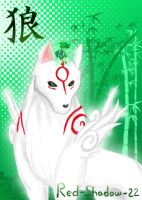 CE: Okami Amaterasu and Issun by Red-Sinistra