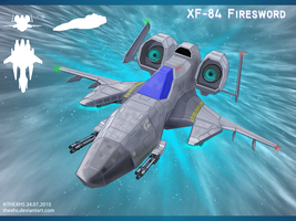 XF-84 Firesword by TheXHS