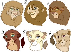 Lions For Sale Trade by oCrystal