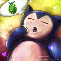 Snorlax by Togamicchi