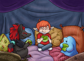 AT: Pillowfort Lettuce Party by Chari-Artist