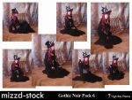 Gothic Noir Pack 6 by mizzd-stock