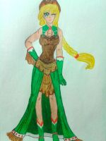 Human Applejack- Apple Gala Gown by gaea-earthgoddess