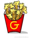 Giraffries by DoodleForFood