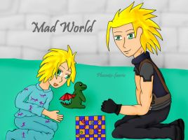 Mad World-Raincloud and Spike by Phoneix-Faerie
