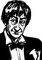 Troughton Sketchiness by AdAbsurdum