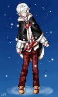 Shiro: Winter Outfit - for ask-blog by Mioko-san
