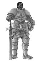 Character: Alenn Toren by loboborges