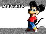 Mickey Mouse Wallpaper by SnafuDave