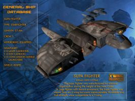 X-Wing Aliance Tech Library - Supa Fighter by hangarbay94