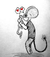 Deadmau5 and Meowingtons by ChimeraDemonX