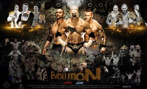 WWE Evolution Wallpaper 2014 by TheSpearstar