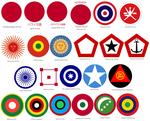 Roundels of the Neo-Japanese Empire by tylero79