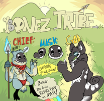 Bonez Tribe Information sheet by HauntedHomo