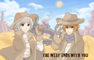 The West Ends With You by Neverjay