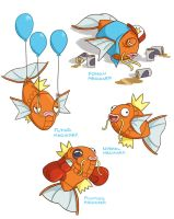Magikarps 1234 by TRAVALE