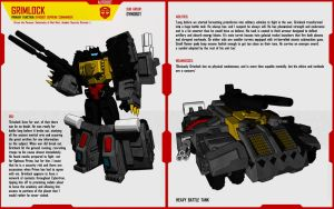 DYNOBOT GRIMLOCK by F-for-feasant-design