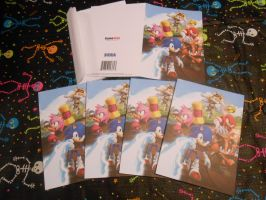 Sonic Boom Greeting Cards by ManicKatie2