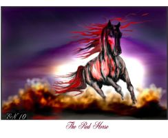 The Red Horse by E by Ellee22