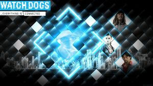 Watch Dogs Wallpaper - City Grit by mentalmars