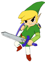 WindWaker Link - Untouched by Aleitheo