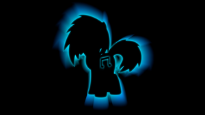 Vinyl Scratch DJ-P0N3 'Zoom Colors' Wallpaper by BlueDragonHans