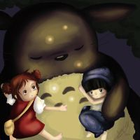 Totoro loves the World by YaruYeLL