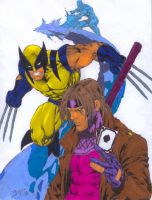 X-Men_by_BeNes by CDL113