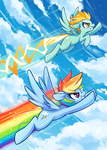 Flying Colors by space-kid