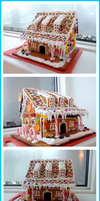 Gingerbread house! by TaekoDK