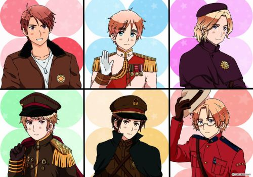 2P! Hetalia Allied Forces by SUN0627
