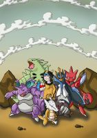 Me and my team by BloodySickk