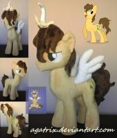 OC Cloversong plush by agatrix