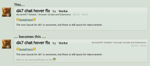dA7 beta 2 improvements by Norke