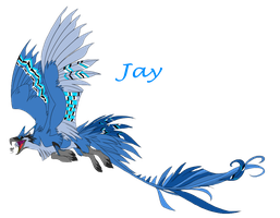 Blue Jay Griffin Adoptable .:Closed:. by Love-Adopts