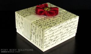 Keepsake Box: Gaudete by foxyboxysolutions