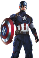 Captain America Avengers Age of Ultron Render by sachso74