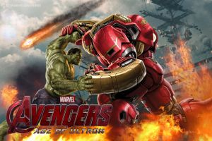 Avengers: Age of Ultron - Hulk with Hulk Buster by Chenshijie9095