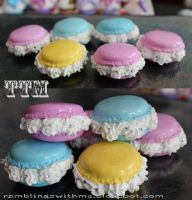 Macaroons and cream by Charly-chan